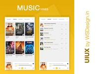 Music Vines App UI