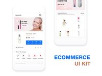 Ecommerce UI KIT on WSDesign.in