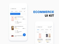 Ecommerce Ui Kit by WSDesign.in