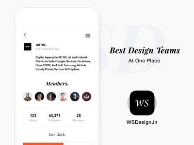 Best Designer Teams at one place