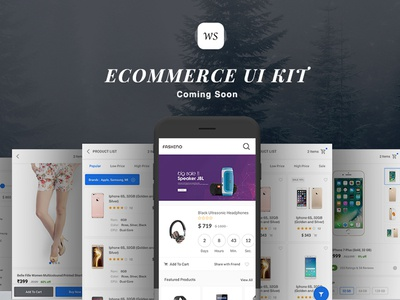 Ecommerce Fashino UI KIT with Android Studio