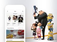 Spark movie ui home page