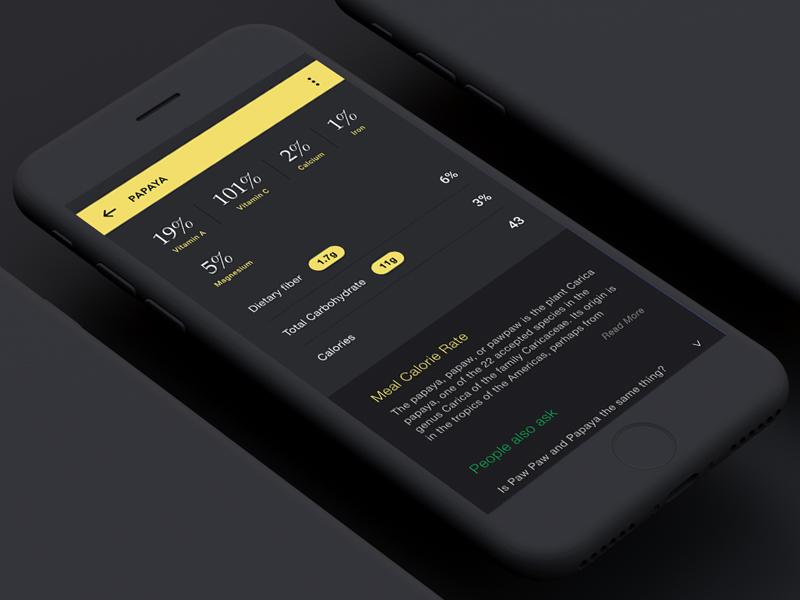 App UIUX PAPAYA mobileapp app uiux