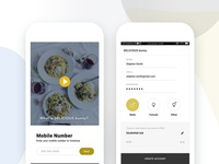 Signin Signup Process | DELICIOUS bunny