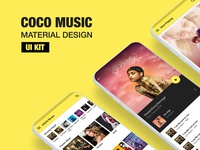 COCO MUSIC UI KIT