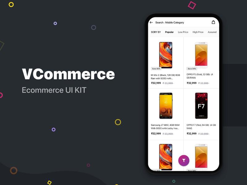 Ecommerce Ui Kit Free By Rushabh Patel For Wsdesign On Dribbble