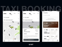 Kwik Taxi Booking UI KIT