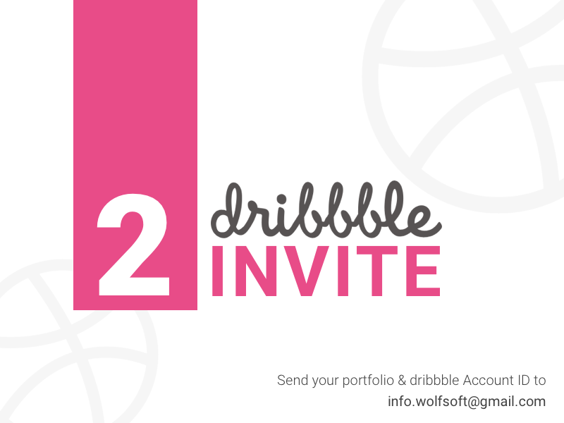 2 Dribbble invites wsdesign dribbble invites invite design invite2 dribbble invite dribbble debut dribbble invite giveaway
