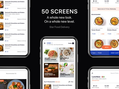 Download Food Delivery App UI KIT