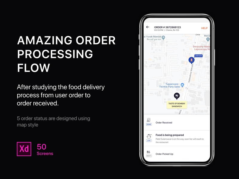 Download Food Delivery App UI KIT android ecommerce food delivery app uikit freebies mobile app template app template ios template ui app template zomato swiggy food delivery application food app food truck food delivery