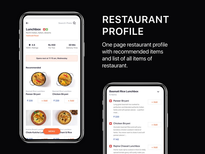 Download Food Delivery App UI KIT download template adobexd ui kit freebies swiggy zomato online food delivery restaurant app uiux design mobile app design food delivery app