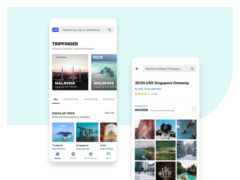 trip finder travelling app ui design by WSDesign Team travel app travel trip app trip planner trip finder uiux design ui design uiux mobile app explore world travelling