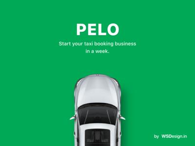 Pelo taxi booking app by wsdesign