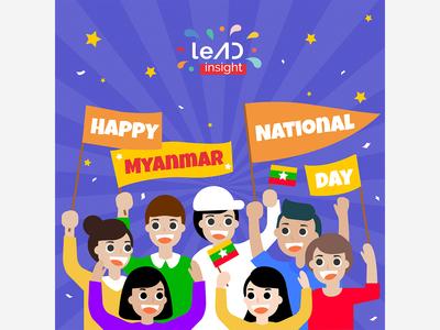 Happy Myanmar National DAY 2019
