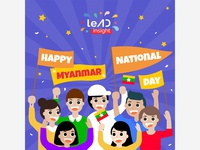 Happy Myanmar National DAY 2019
