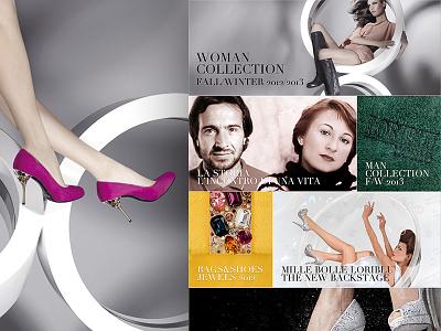 Loriblu.com luxury shoes ecommerce web webdesign design ux ui