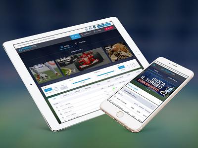 Fantasy Team (Web & Mobile) servicedesign experience gambling web webdesign design ux ui
