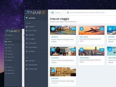 Naar World Wide Tours (Web App) servicedesign experience travel web webdesign design ux ui
