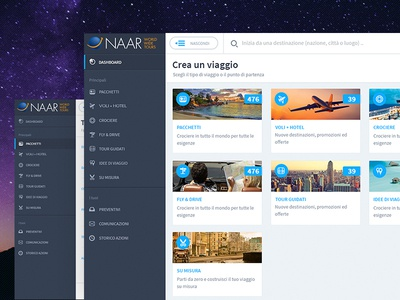 Naar World Wide Tours (Web App) servicedesign experience travel web webdesign design ux ui