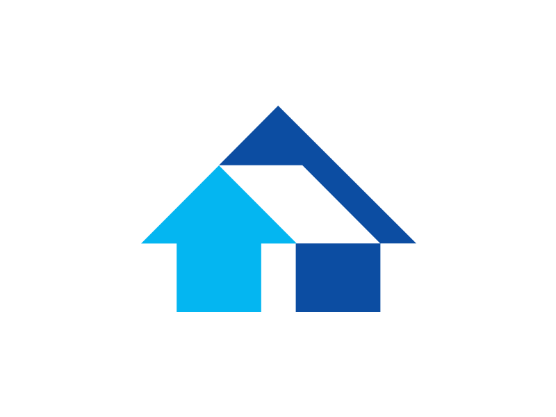 Abstract House Logo By Bryan Burgos On Dribbble