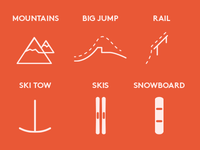 Winter-sport Minicons set