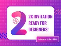 2x Invitation