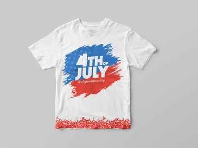 USA Independence Day 4th Of July - T-Shirt Design branding-design graphic-design t-shirt-design