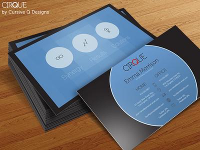 Cirque - Free Business Card Template PSD