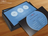 Cirque - Free Business Card Template PSD
