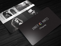 QuadPix - Photographer Business Card Template