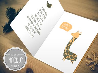 Greeting Card Mockup PSD Templates2