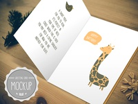 Greeting Card Mockup PSD Templates2