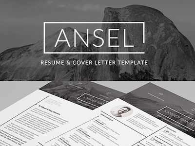 Ansel - Resume and Cover Letter Template