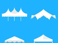 Tent icons