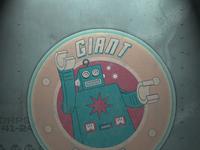 Gian robot large