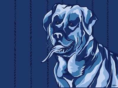 Dog...! showsomelove lab pets graphic design vectorgraphic illustrator animal illustration digital painting digital art dog illustration ux ui illustration art vectorart design artwork art animal dog petlove