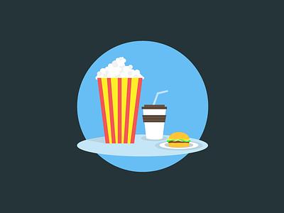 Snack Combo!! design mobile ux ui snacks trade perks illustrations icon