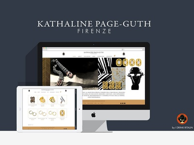 Kathaline Page Guth - Fine Jewelry in Florence www web website page shop elegant design jewelry ecommerce