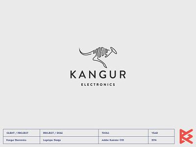 Kangur Electronics logo electronics kangur