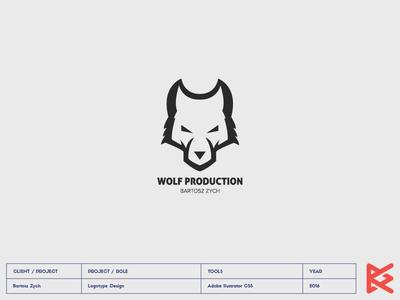 WOLF PRODUCTION logo camera production wolf