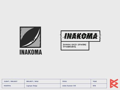 INAKOMA clothes hiphop logo inakoma