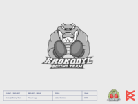 krokodyl fight fighter boxing croco crocodile ilustration mascot logo