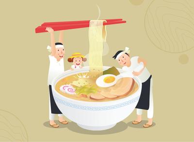 Japan - Making Ramen