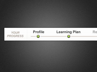 Simple Progress Bar progress steps bar indicators plan