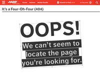 AARPe 404 Concept
