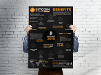 Infographic Bitcoin Benefits 2018