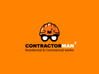 ContractorMan Logo design
