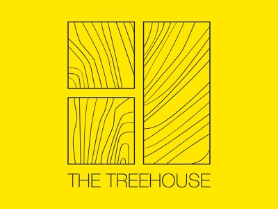 The Treehouse design icon architect vector minimal branding logo architecture