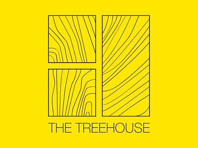 The Treehouse design icon architect vector minimal branding logo architecture