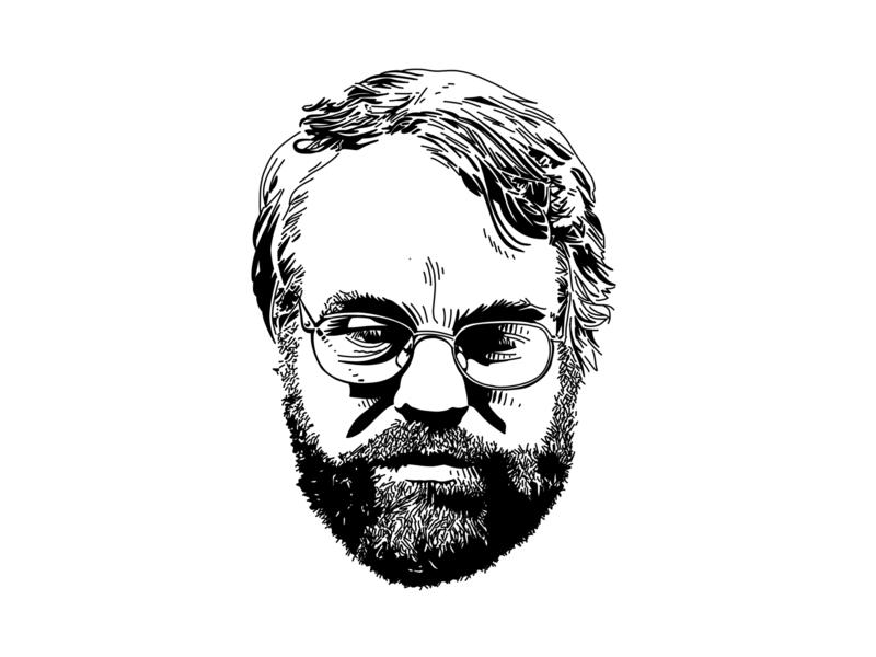 Philip Seymour Hoffman procreate illustration